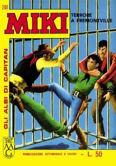 Copertina CAPITAN MIKI ALBI LIBRETTO COL n.22 - 201/208, MERCURY EDITORIALE