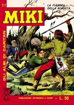 Copertina CAPITAN MIKI ALBI LIBRETTO COL n.24 - 217/224, MERCURY EDITORIALE