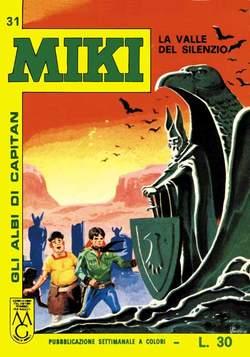 Copertina CAPITAN MIKI ALBI LIBRETTO COL n.4 - 31/40, MERCURY EDITORIALE