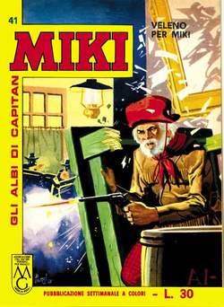 Copertina CAPITAN MIKI ALBI LIBRETTO COL n.5 - 41/50, MERCURY EDITORIALE