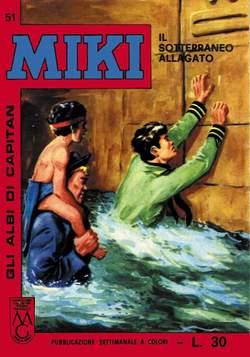 Copertina CAPITAN MIKI ALBI LIBRETTO COL n.6 - 51/60, MERCURY EDITORIALE