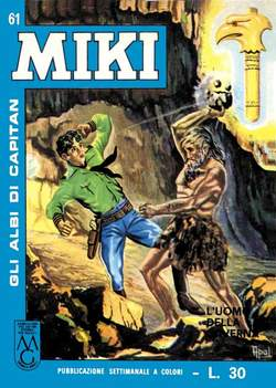 Copertina CAPITAN MIKI ALBI LIBRETTO COL n.7 - 61/70, MERCURY EDITORIALE