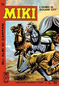 Copertina CAPITAN MIKI ALBI LIBRETTO COL n.8 - 71/80, MERCURY EDITORIALE