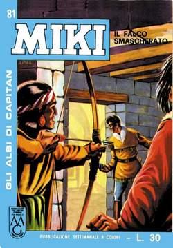 Copertina CAPITAN MIKI ALBI LIBRETTO COL n.9 - 81/90, MERCURY EDITORIALE