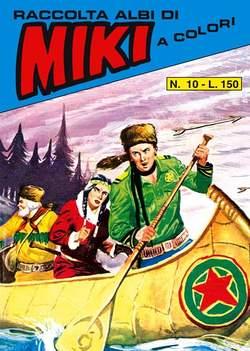 Copertina CAPITAN MIKI raccolta albi libretto n.10 - CAPITAN MIKI raccolta albi libretto, MERCURY EDITORIALE