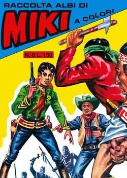 Copertina CAPITAN MIKI raccolta albi libretto n.6 - CAPITAN MIKI raccolta albi libretto, MERCURY EDITORIALE