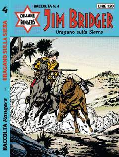 Copertina COLLANA RANGERS RACCOLTA n.4 - JIM BRIDGER, MERCURY EDITORIALE