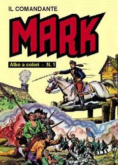 Copertina COMANDANTE MARK albi a colori n.1 - 1/2, MERCURY EDITORIALE