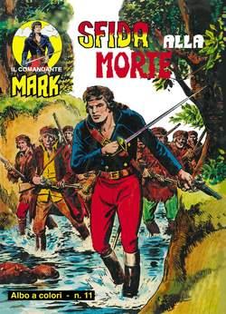 Copertina COMANDANTE MARK albi a colori n.6 - 11/12, MERCURY EDITORIALE
