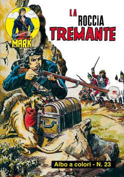 Copertina COMANDANTE MARK ALBI A COLORI n.12 - 23/24, MERCURY EDITORIALE