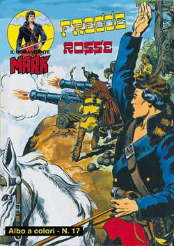 Copertina COMANDANTE MARK ALBI A COLORI n.9 - 17/18, MERCURY EDITORIALE