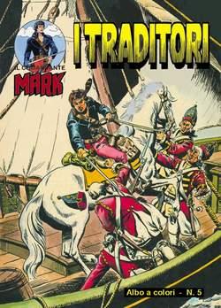 Copertina COMANDANTE MARK albi a colori n.3 - COMANDANTE MARK albi a colori dal 5 al 6, MERCURY EDITORIALE