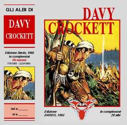 Copertina DAVY CROCKETT cofanetto n.2 - DAVY CROCKETT cofanetto, MERCURY EDITORIALE