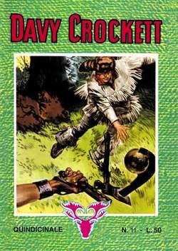 Copertina DAVY CROCKETT n.2 - DAVY CROCKETT albi dal 11 al 20, MERCURY EDITORIALE