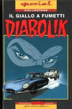 Copertina DIABOLIK SPECIAL n.2 - DIABOLIK SPECIAL A COLORI, MERCURY EDITORIALE