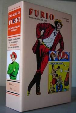 Copertina FURIO n. - FURIO cofanetto vuoto, MERCURY EDITORIALE