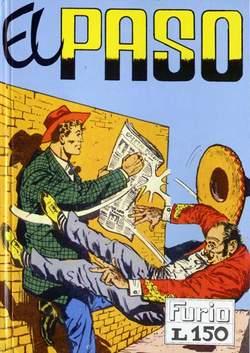 Copertina FURIO raccolta n.1 - EL PASO, MERCURY EDITORIALE