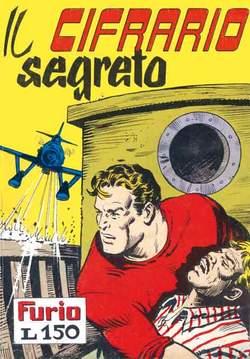 Copertina FURIO raccolta n.8 - IL CIFRARIO SEGRETO, MERCURY EDITORIALE