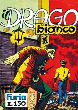 Copertina FURIO raccolta n.4 - IL DRAGO BIANCO, MERCURY EDITORIALE