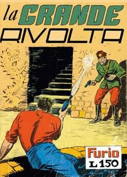 Copertina FURIO raccolta n.6 - LA GRANDE RIVOLTA, MERCURY EDITORIALE