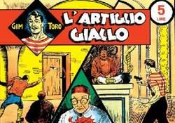 Copertina GIM TORO 1a serie n. - GIM TORO serie GIALLA completa dal 1 al 76 + cofanetto, MERCURY EDITORIALE