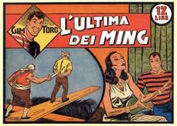 Copertina GIM TORO 2a serie n.1 - GIM TORO serie ROSSA dal 1 al 13, MERCURY EDITORIALE
