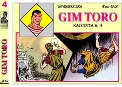 Copertina GIM TORO raccolta n.4 - GIM TORO raccolta serie GIALLA, MERCURY EDITORIALE
