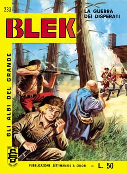 Copertina GRANDE BLEK ALBI LIBRETTO C. n.26 - 233/240, MERCURY EDITORIALE