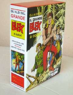 Copertina GRANDE BLEK n. - GLI ALBI DEL GRANDE BLEK cofanetto vuoto, MERCURY EDITORIALE
