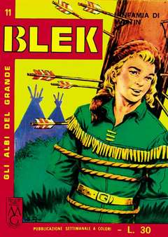 Copertina GRANDE BLEK n.2 - GLI ALBI DEL GRANDE BLEK dal 11 al 20, MERCURY EDITORIALE