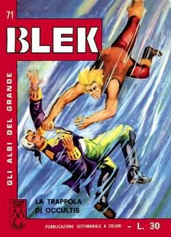 Copertina GRANDE BLEK n.8 - GLI ALBI DEL GRANDE BLEK dal 71 al 80, MERCURY EDITORIALE