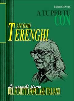 Copertina GRANDI FIRME FUMETTO POPOLARE ITALIANO n.2 - ANTONIO TERENGHI, MERCURY EDITORIALE