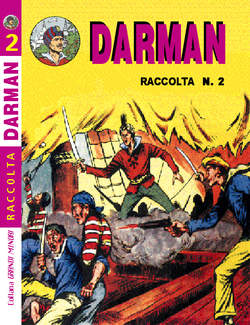 Copertina GRANDI MINORI RACCOLTA COLLANA n.28 - DARMAN 2, MERCURY EDITORIALE