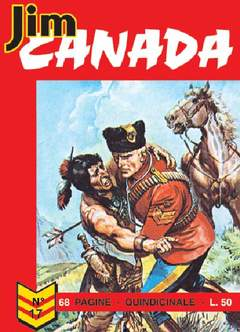 Copertina JIM CANADA n.3 - ALBI INEDITI, LOTTO 3 (17/20) , MERCURY EDITORIALE