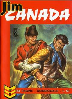 Copertina JIM CANADA n.2 - LOTTO 2 (9/16), MERCURY EDITORIALE
