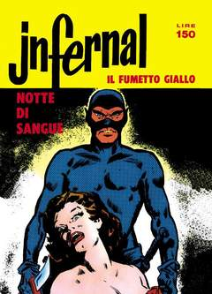 Copertina JNFERNAL n.1 - 1/4, MERCURY EDITORIALE