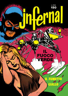 Copertina JNFERNAL n.3 - 9/12, MERCURY EDITORIALE