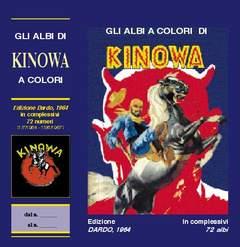 Copertina KINOWA LIBRETTO COFANETTO n.1 - COFANETTO, MERCURY EDITORIALE
