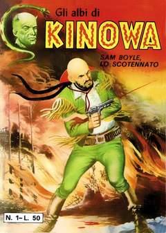 Copertina KINOWA LIBRETTO COLORE (m9) n.1 - 01/08, MERCURY EDITORIALE