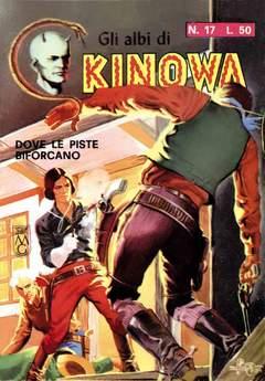 Copertina KINOWA LIBRETTO COLORE (m9) n.3 - 17/24, MERCURY EDITORIALE