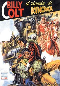 Copertina KINOWA RACC. ALBI D'ORO (m7+2) n.4 - BILLY COLT, MERCURY EDITORIALE