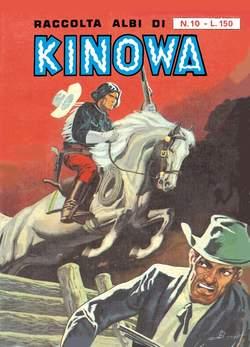 Copertina KINOWA RACCOLTA ALBI LIBRETTO n.10 - RACCOLTA ALBI DI KINOWA LIBRETTO/COLORE, MERCURY EDITORIALE