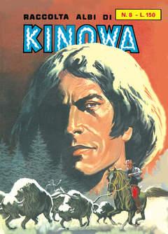 Copertina KINOWA RACCOLTA ALBI LIBRETTO n.8 - RACCOLTA ALBI DI KINOWA LIBRETTO/COLORE, MERCURY EDITORIALE