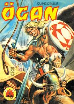 Copertina OGAN n.1 - LOTTO 1 (1/10), MERCURY EDITORIALE