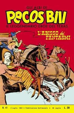 Copertina PECOS BILL ALBI LIBRETTO COLOR n.5 - LOTTO 5 41/50, MERCURY EDITORIALE