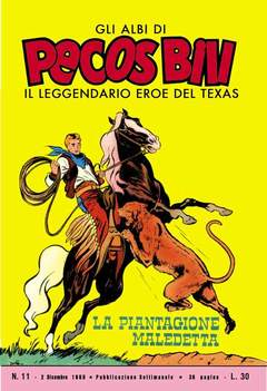 Copertina PECOS BILL ALBI LIBRETTO COLOR n.2 - LOTTO 2 (NN. 11/20), MERCURY EDITORIALE