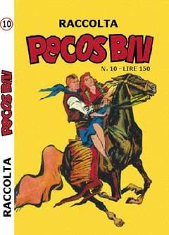 Copertina PECOS BILL ALBI RACCOLTA n.10 - RACCOLTA ALBI DI PECOS BILL LIBRETTO/COLORE, MERCURY EDITORIALE