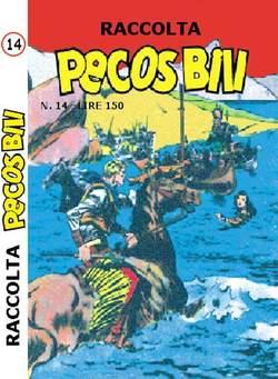 Copertina PECOS BILL ALBI RACCOLTA n.14 - RACCOLTA ALBI DI PECOS BILL LIBRETTO COLORE, MERCURY EDITORIALE