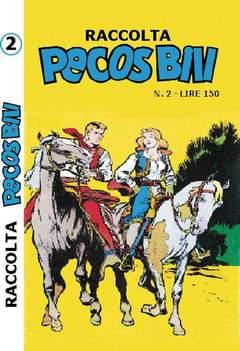 Copertina PECOS BILL ALBI RACCOLTA n.2 - RACCOLTA ALBI DI PECOS BILL, MERCURY EDITORIALE