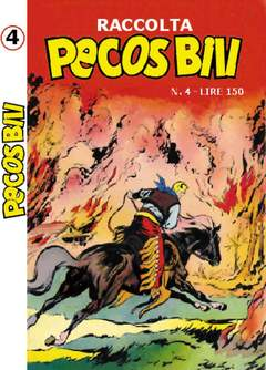 Copertina PECOS BILL ALBI RACCOLTA n.4 - RACCOLTA ALBI DI PECOS BILL, MERCURY EDITORIALE